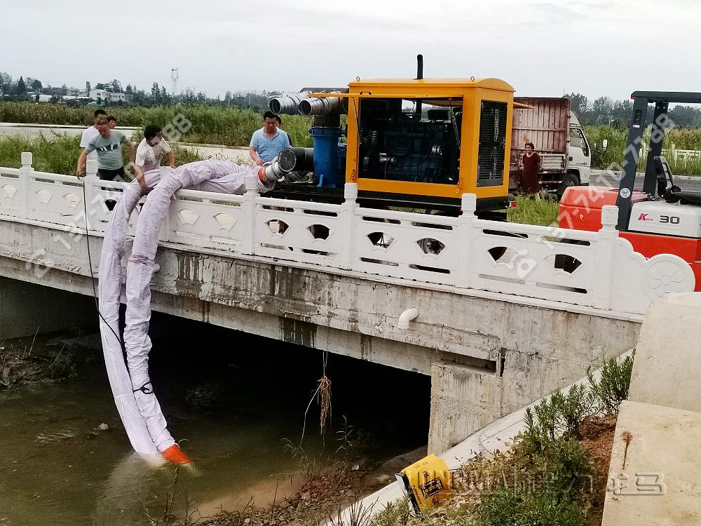 大流量节能拖挂式防洪抢险泵站[1000m³/h]