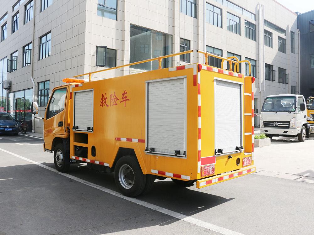 凯马小型防汛排水抢险车