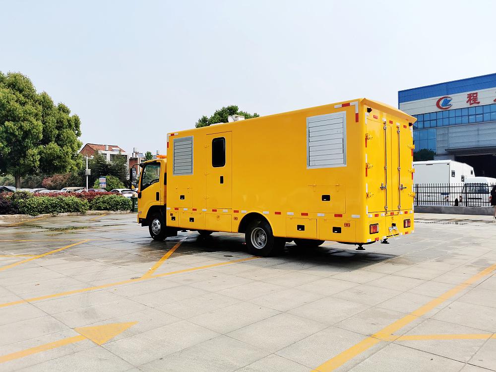 五十铃电源车移动式电源保障车