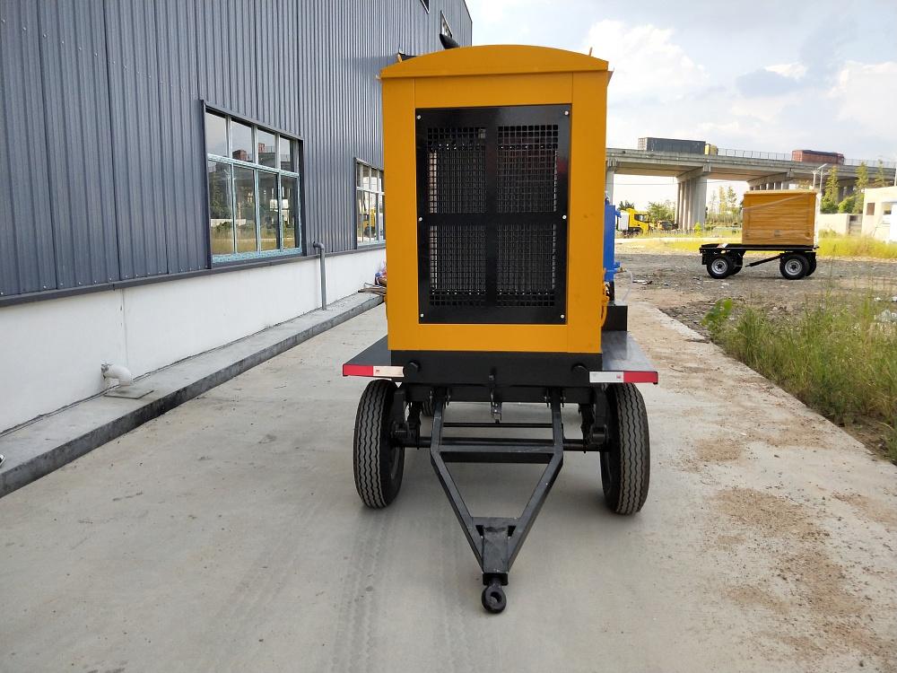 各种拖挂式防汛排涝发电抢险泵车定制