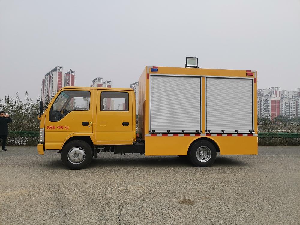 庆铃双排座工程救险车